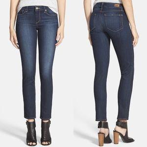 PAIGE | 'Skyline' Ankle Peg Dark Wash Skinny Jeans